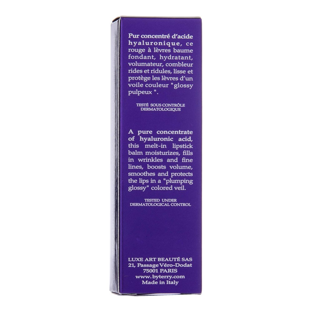 Batom Hyaluronic Sheer Rouge Hydra Balm By Terry 09 Dare To Bare (3 g)